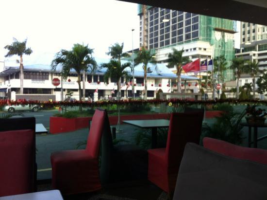 Hotel Sentral Melaka: View from Cafe