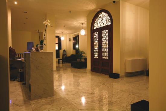 Casa del Trigo: Recepción del hotel