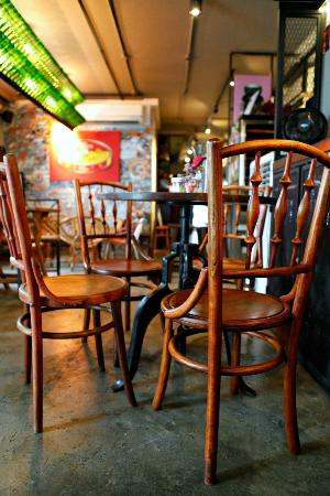 The Pecking Order: Vintage Coffee Shop Chairs