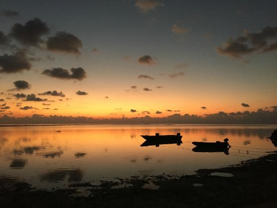Rihiveli by Castaway Hotels & Escapes: Sunset