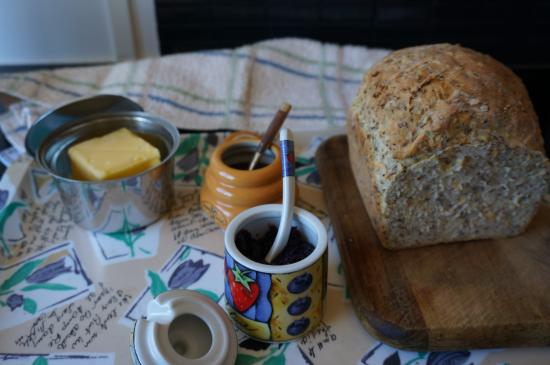 Clarence Point, Australia: handmade bread