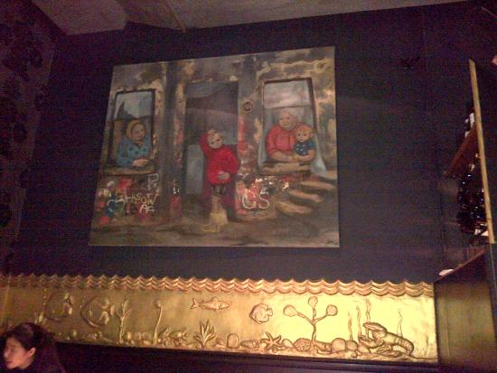 Two Fat Ladies West End : Amazing painting by Deirdre McCrinnon! Xx