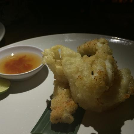 Squid in batter - nicely done