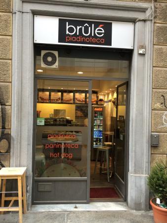 Brûlé Piadineria - Via Carlo Alberto