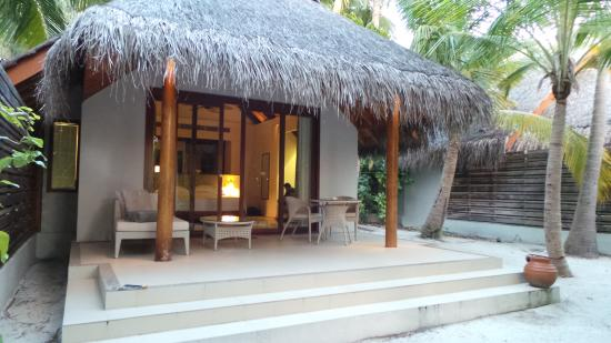 Beach Villa With Pool 108 Picture Of Dusit Thani Maldives
