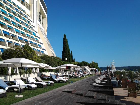 Veduta Hotel Bild Von Grand Hotel Bernardin Portoroz Tripadvisor
