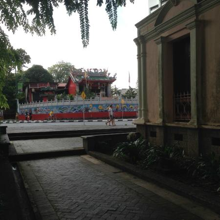 Tua Pek Kong from the front of Chinese Museum
