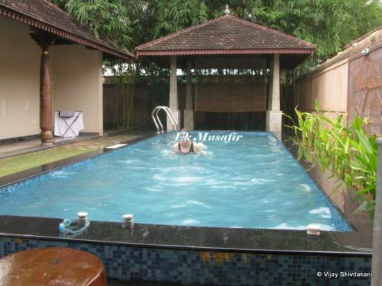 Private Pool At The 1br Villas Picture Of Club Mahindra Poovar Puvar Tripadvisor