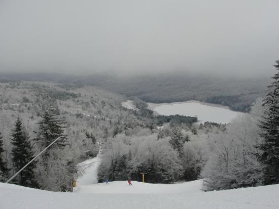 Snowshoe Mountain Resort: Top of Grabhammer run
