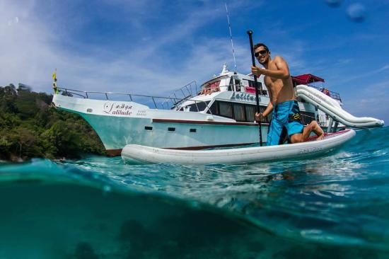 Latitude Diving Boat Phuket