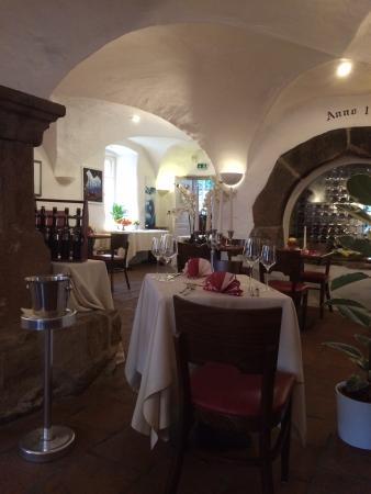Hotel Restaurant Altes Badhaus : Unter ualtem Gewölbe