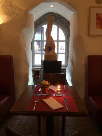Hotel Restaurant Altes Badhaus : Kunst und Ambiente