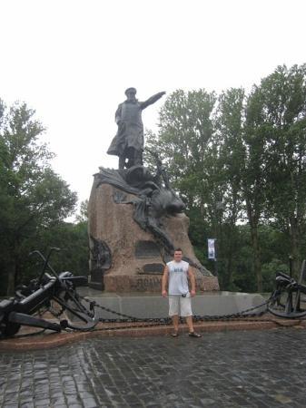 Admiral Makarov Statue