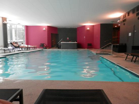 Domaine des Hautes Fagnes: piscine, avec accès au sauna, hammam, bain massant