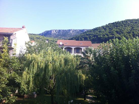 Villa Giardino garden view