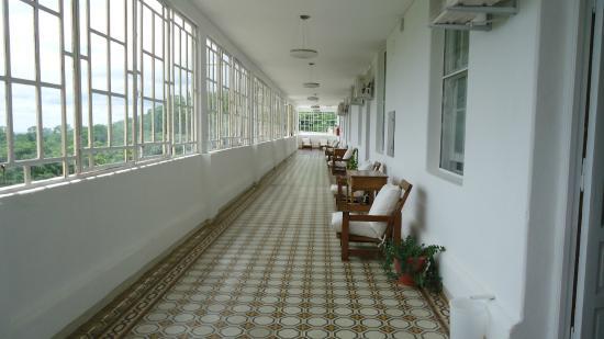 Galería del tercer piso acceso a las habitaciones