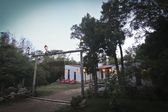Hostel Punta Ballena Bar: La tranquilidad del monte
