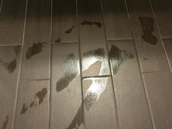Bathroom floor was wet picture of grand hyatt tampa bay for Flooring near my location