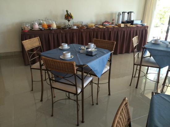 Jamaica Hotel : cafe da manhã
