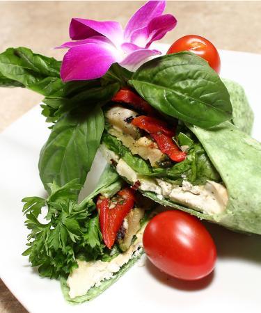 La Parisienne Bistro Cafe: Veggie wrap