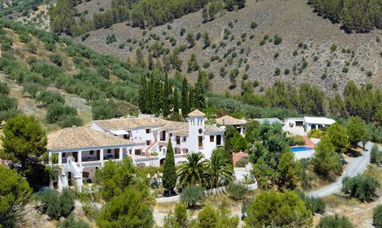 Cortijo Las Salinas: Ste amongst the olive
