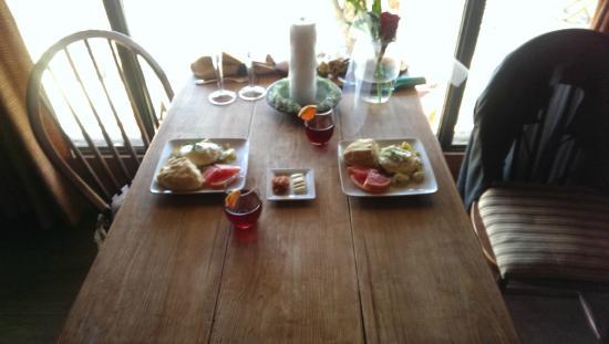 Star of Texas Bed & Breakfast: Great breakfast