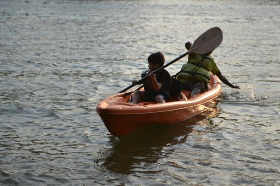 Ecomantra's Rivertrail Eco Camp : Kayaking