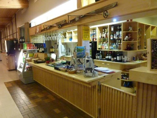Hotel Jeris: Le bar niveau reception, pres de la cheminée