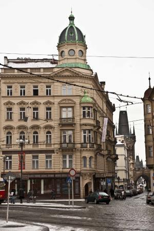 Malostranska Residence: Residence in winter
