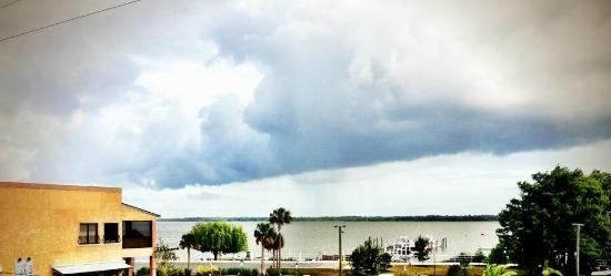 Key West Resort on Lake Dora : View from the private balcony included with every room