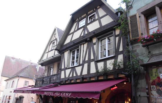 hotel restaurant Au cerf : Riquewihr Restaurant Au Cerf