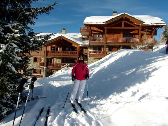 ski in out photo de residence cgh les cimes blanches la rosiere 1850 la rosi re tripadvisor. Black Bedroom Furniture Sets. Home Design Ideas