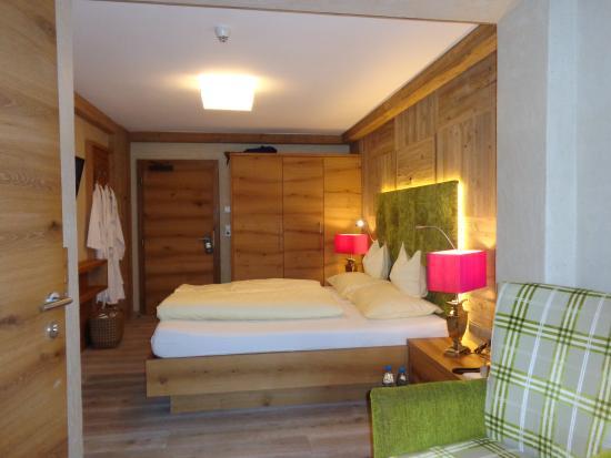 Alpine Wellnesshotel Karwendel : La partie couchage