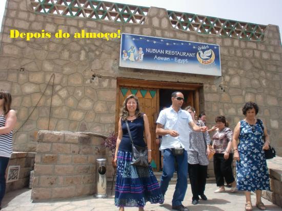 Nubian Restaurant: Fachada do restaurante.