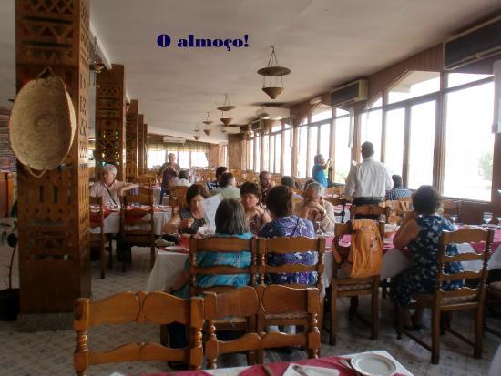Nubian Restaurant: vista da sala de refeição......
