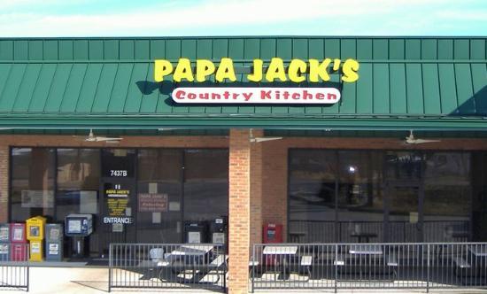 Papa Jack S Country Kitchen Flowery Branch Ga