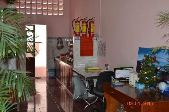 Minh Anh Garden Hotel: kitchen