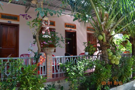 Minh Anh Garden Hotel: terrace