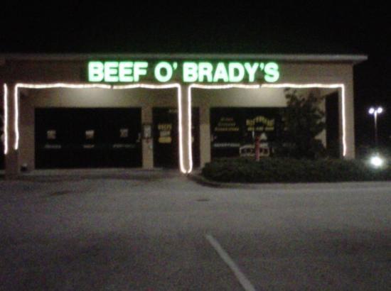 Beef o 39 brady 39 s davenport menu prices restaurant for 5 star salon davenport