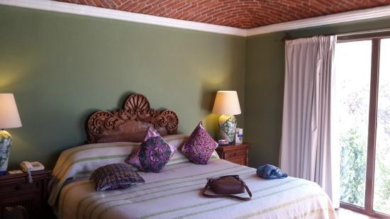 La Puertecita Boutique Hotel : Habitación/Cama