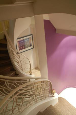 Hotel de la Fontaine : escalier