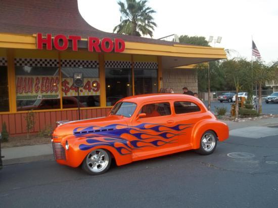 hot rod diner booking
