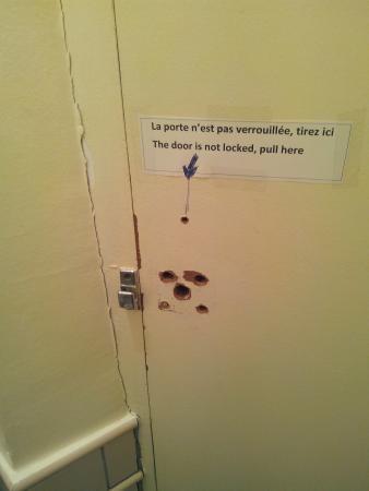 De La Vallee Hotel: wc - tuvalet