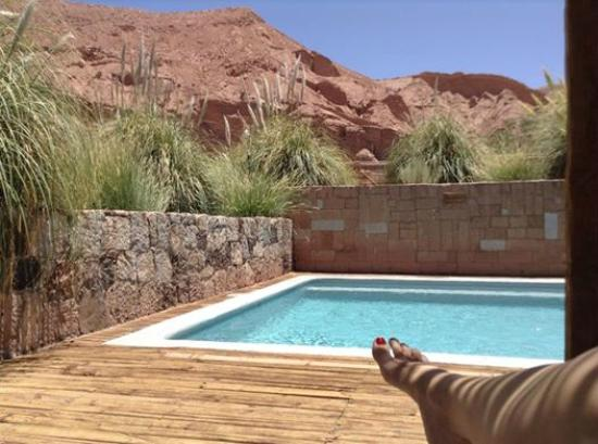 Alto Atacama Desert Lodge & Spa: One of several pools