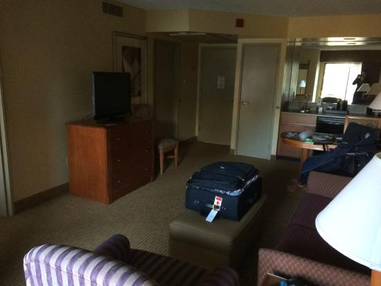 Embassy Suites by Hilton Phoenix-Scottsdale: Room 3052 Living Room