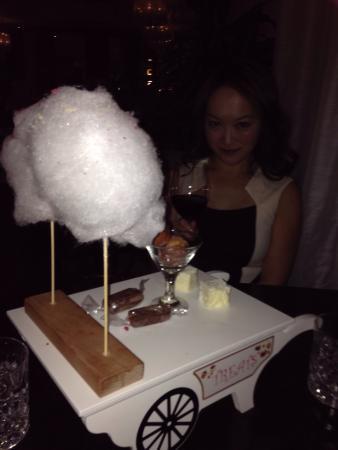 Dylan Hotel: I really loved my dessert!