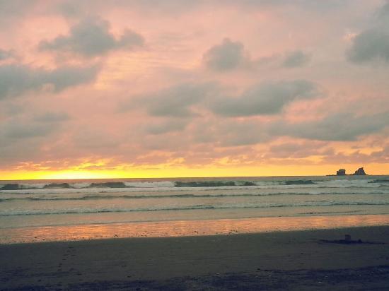 Cabanas la Iguana: Playa Ayampe