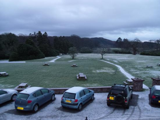 Irton Hall B&B: View from our room