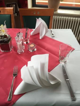 Suite Hotel Leipzig: Tisch