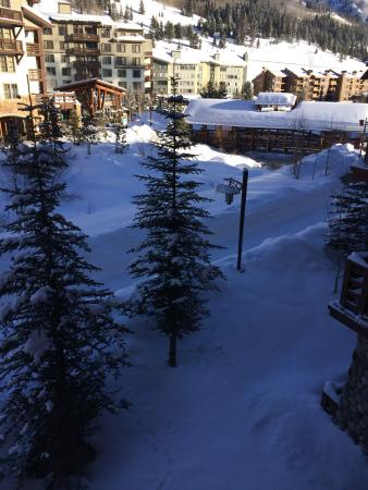 Center Village at Copper Mountain: Going up American Flyer